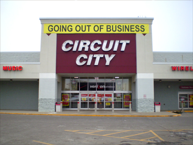best buy after circuit city Best buy has not had a major direct competitor in the consumer electronics market since circuit city's bankruptcy in 2008 however given the higher price.