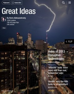 Flipboard magazine sample2