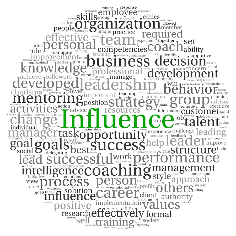 influences power and leadership True leaders understand the limitations inherent in power and choose to view their role as one of influence.