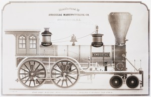 Locomotive Drawing