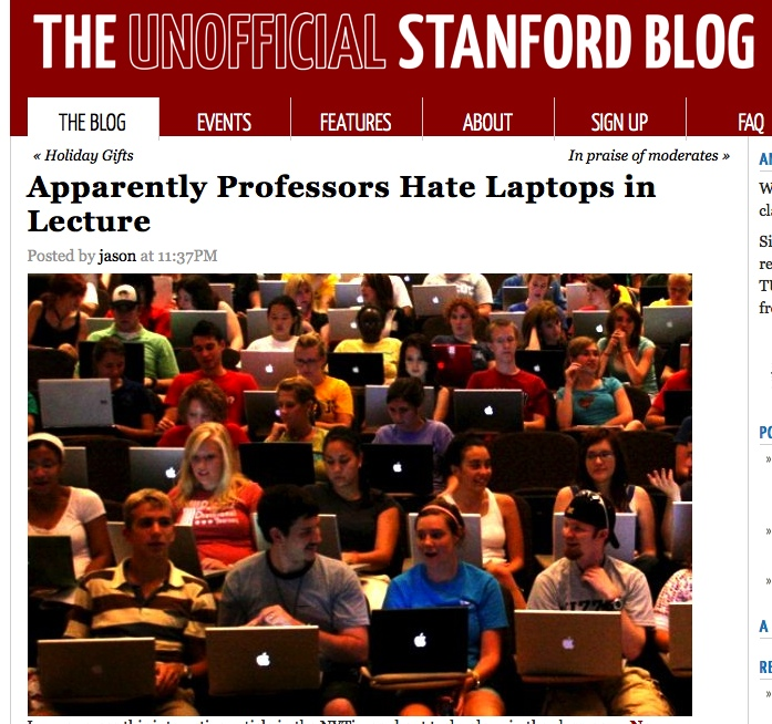 Unofficial Stanford Blog