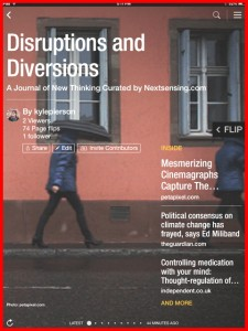Disruptions and Diversions Cover