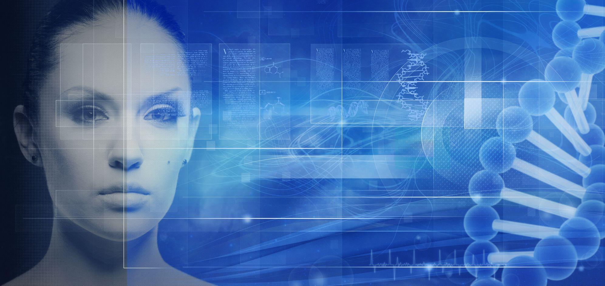 Woman and Robotic Medicine